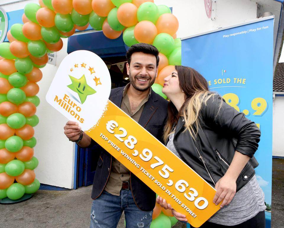 29M EuroMillions Winners come forward to claim thier prize
