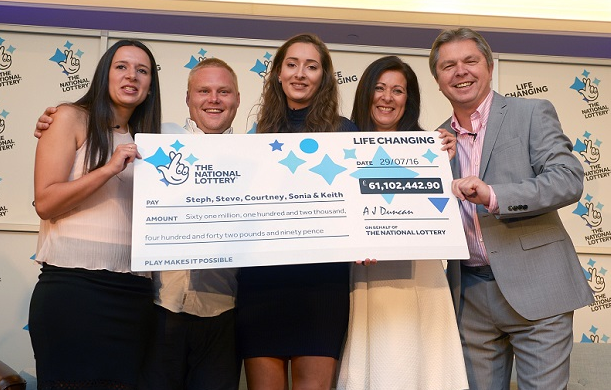 EuroMillions family syndicate win