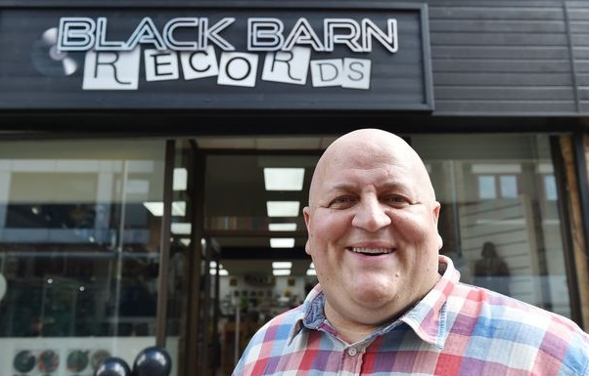 Black Barn Records, Adrian Bayford, EuroMillions winner