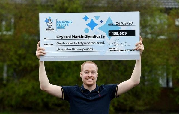 Crystal Martin EuroMillions lottery syndicate