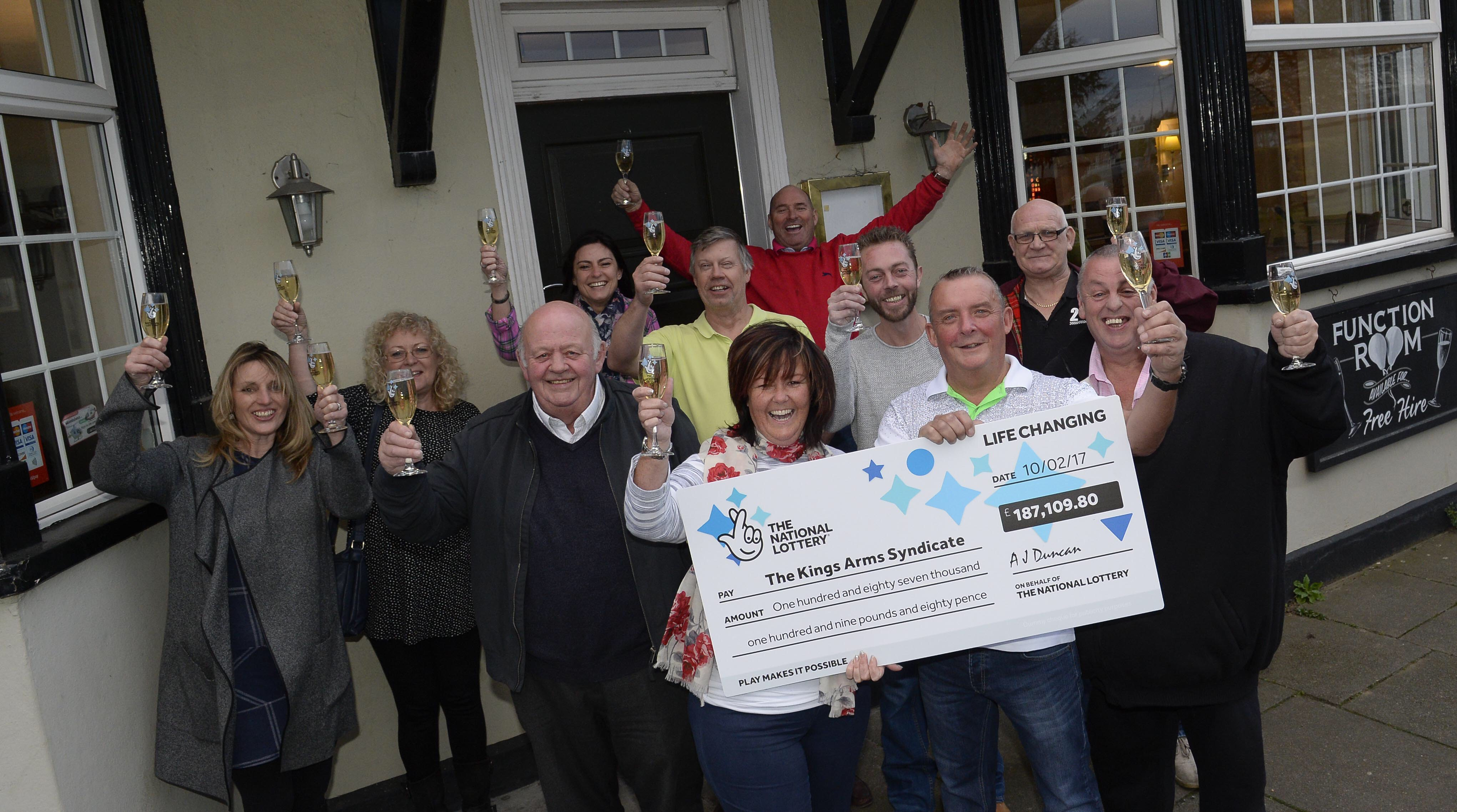 Essex EuroMillions syndicate winners