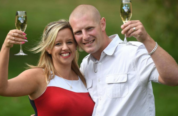 EuroMillions wife pranks her husband