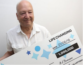 Gordon Rees, EuroMillions winner