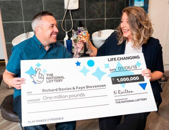 Richard Davies, EuroMillions winner