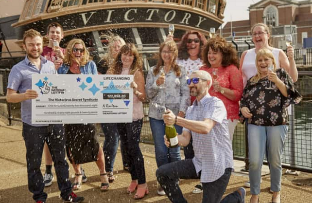 EuroMillions Syndicate, lottery syndicate winners