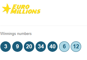 euromillions lottery winning numbers