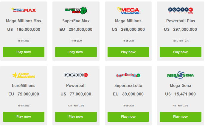 top lottery international jackpots online, lotteries to play online