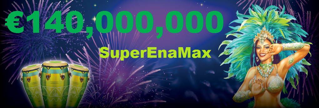 140 million SuperEnaMax jackpot