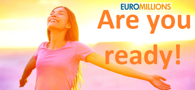 Are you ready for the next EuroMillions Superdraw Event?
