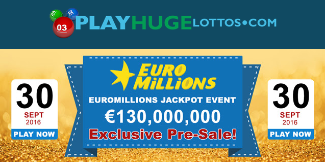 EuroMillions Superdraw 30 September 2016