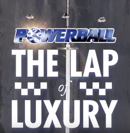 Powerball lap of luxury