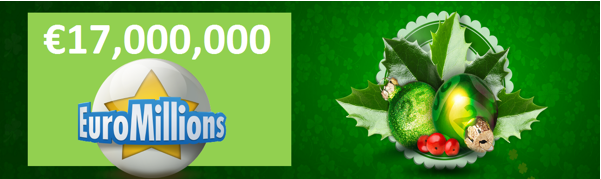 St. Patrick's day with EuroMillions