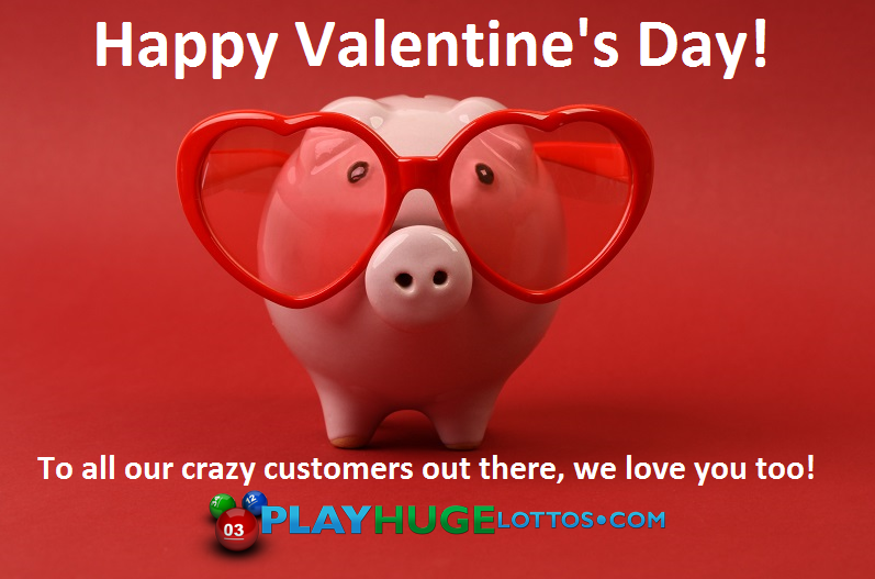 Happy Valentines Day to customers