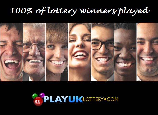 100% of lottery winners played the lottery