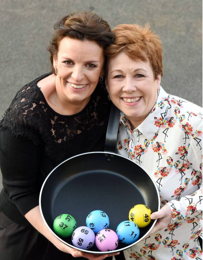 Lolly and Polly win the lottery