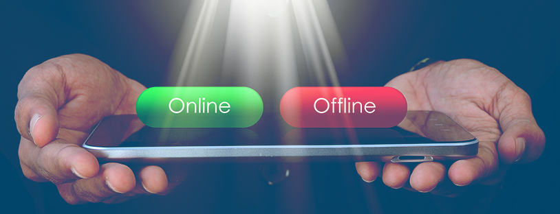 Online lotteries vs offline lotteries