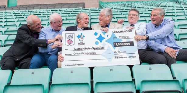 The group of UK Lottery winners doing good