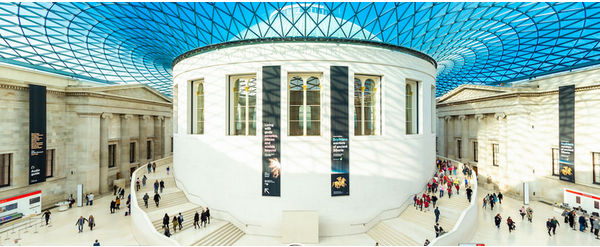 The British Museum, British Museum funded by the lottery