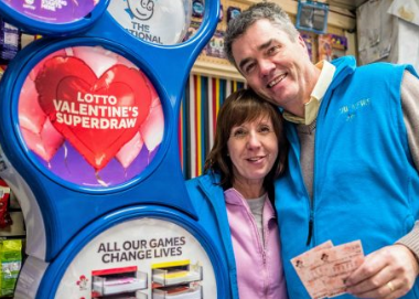UK Lottery Valentine's Day Superdraw