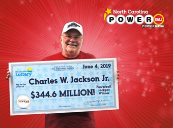 Charles W. Jackson wins big on Powerball