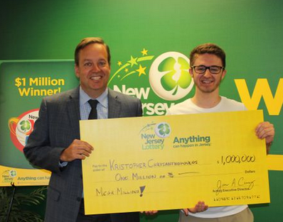 College kid wins big on Mega Millions