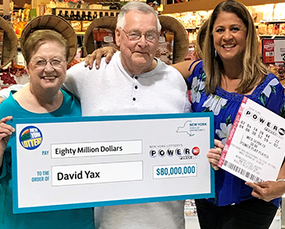 David Yax, Powerball lottery winner