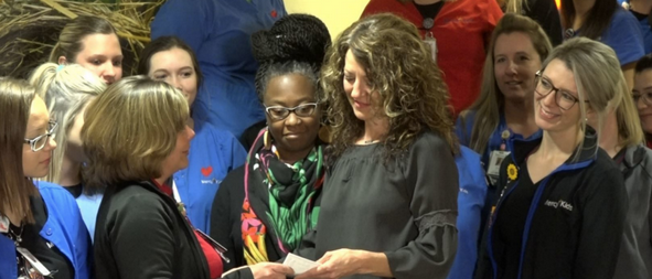 Nurses donate their Mega Millions prize to co-workers
