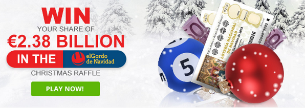 El Gordo de Navidad tickets now on sale at PlayUSALotteries.com!