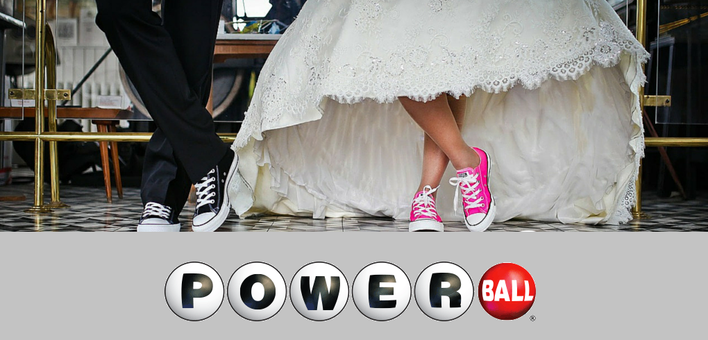 Wedding bells for Powerball winning couple