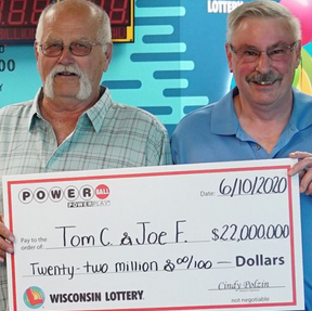 Best friends win the Powerball lottery