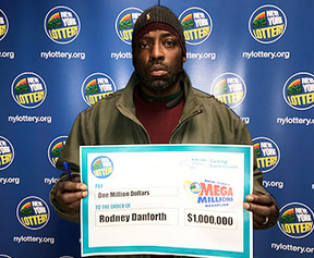 Rodney Danforth, Mega Millions winner