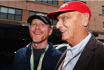 Ron Howard at Monaco F1 Grand Prix
