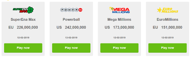 Biggest jackpots in the world