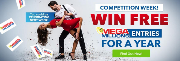 Win free Mega Millions lottery tickets for a year