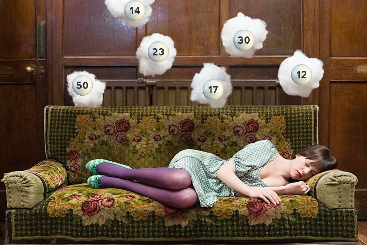 dreaming of the lottery, lotto dream, dreaming of lottery numbers