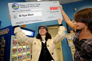 first time lottery winners