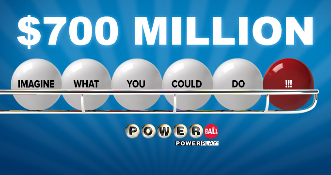$700 million Powerball jackpot