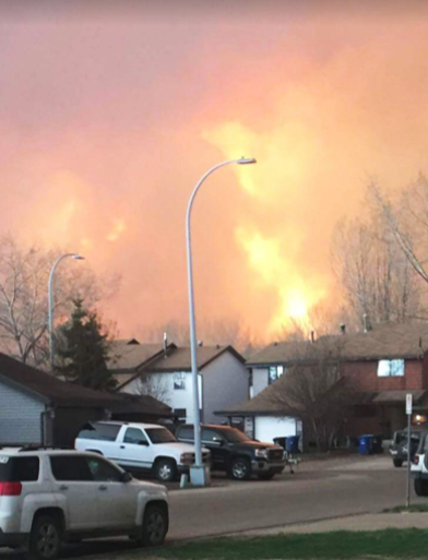 Wildfire destroys lottery winners home