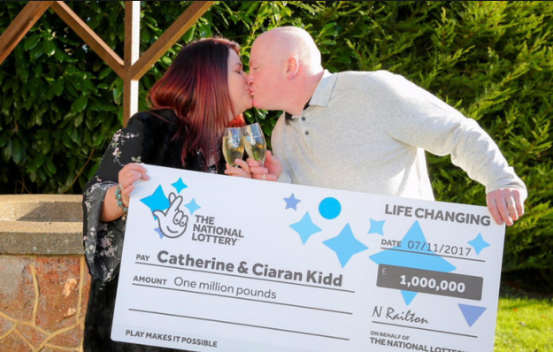 Catherine and Ciaran Kidd Wins EuroMillions AGAIN!