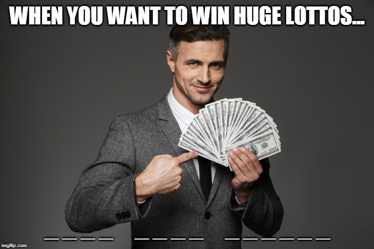 Did you know: you could win free lottery tickets here!