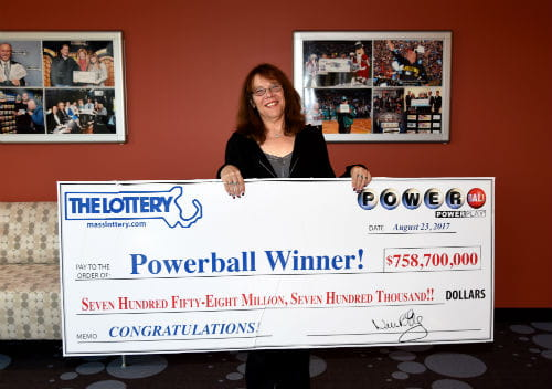 Powerball Lottery Jackpot Winner