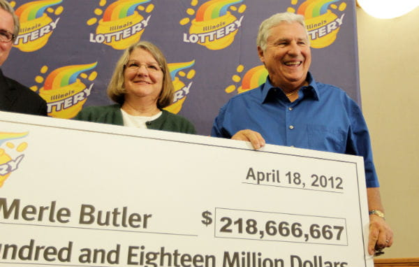 Merle and Patricia Butler Wins Big With Mega Millions Lottery