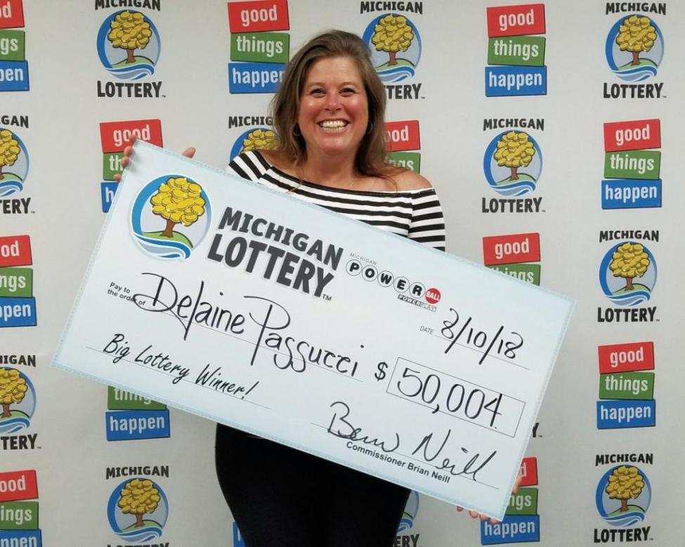 Michigan woman almost throws winning lottery ticket in the trash!