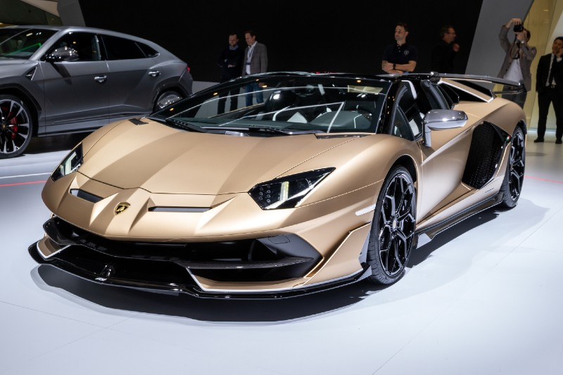 4 items to splurge on after becoming a multimillionaire - The Lamborghini Aventador SVJ Roadster -