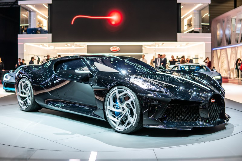 The most expensive cars to buy after winning the lottery today - Bugatti La Voiture Noire