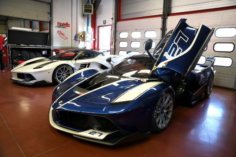 The most expensive cars to buy after winning the lottery today - Ferrari FXX K