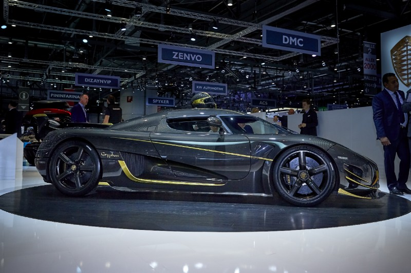 The most expensive cars to buy after winning the lottery today - Koenigsegg Agera RS