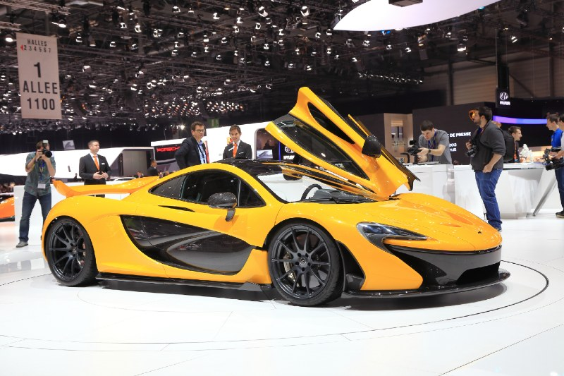 The most expensive cars to buy after winning the lottery today - McLaren P1 GTR