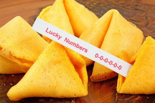 The fortune cookie that was actually accurate