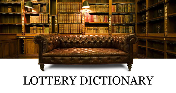 lottery dictionary